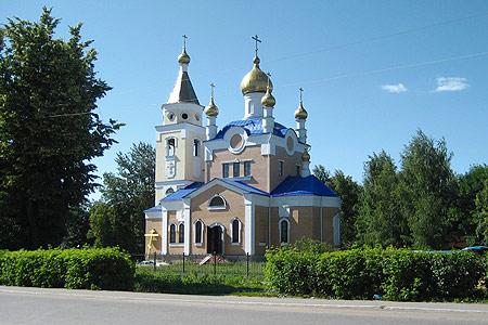 Храм Вознесения Господня п. Змиевка